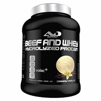 Beef and Whey Hydrolyzed Protein (Creamy Vanilla)