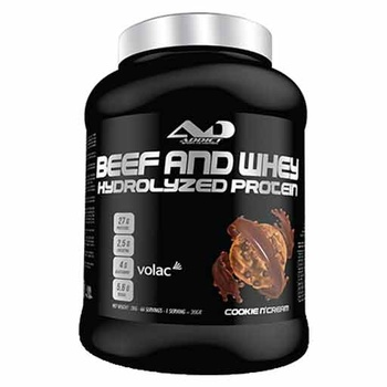 Beef and Whey Hydrolyzed Protein (Cookies & Cream)
