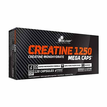 Creatine 1250 Mega Caps (120 Caps)