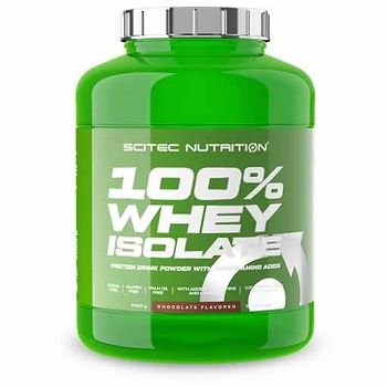 100% Whey Isolate (Chocolate, 2000 gr)