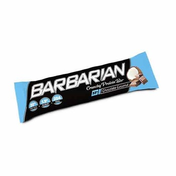 Barbarian Crunchy Protein Bar (Chocolate - Coconut, 1 Pc)