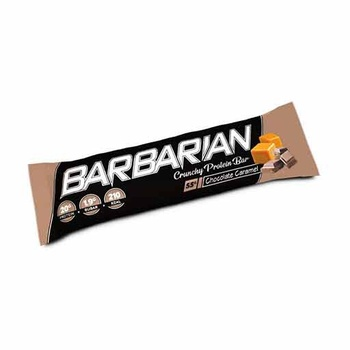 Barbarian Crunchy Protein Bar (Chocolate - Caramel, 1 Pc)