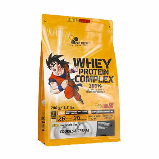Whey Protein Complex 100% Limited Edition Dragon Ball Z