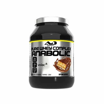 Anabolic Pure Whey Complex (Snickers, 1000 gr)