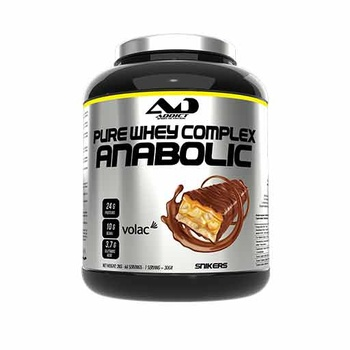 Anabolic Pure Whey Complex (Snickers, 2000 gr)
