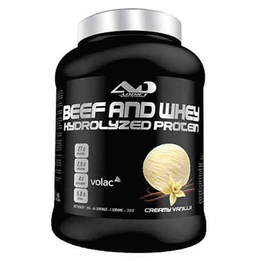 Beef and Whey Hydrolyzed Protein