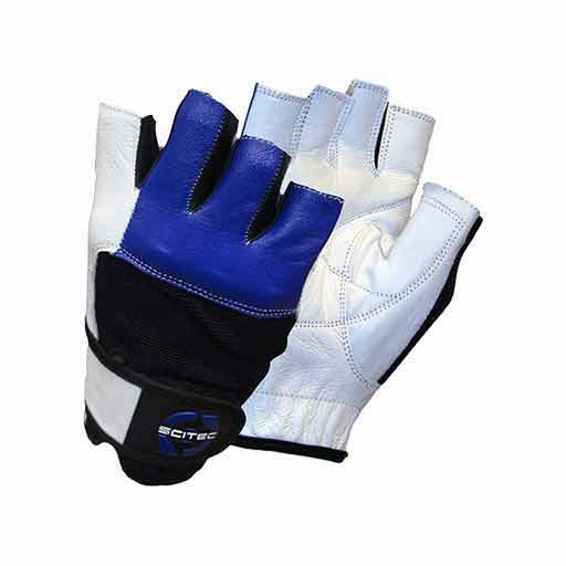 Weightlifting Gloves - Blue Style