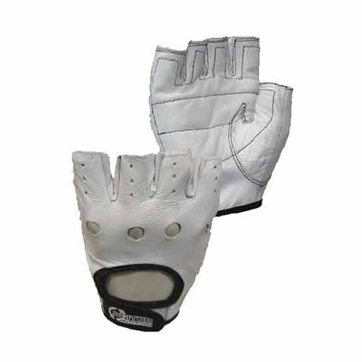 Weightlifting Gloves - White Style